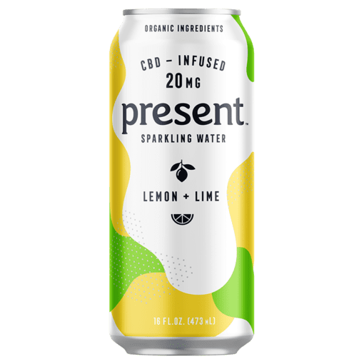 Present - CBD Infused Sparkling Water